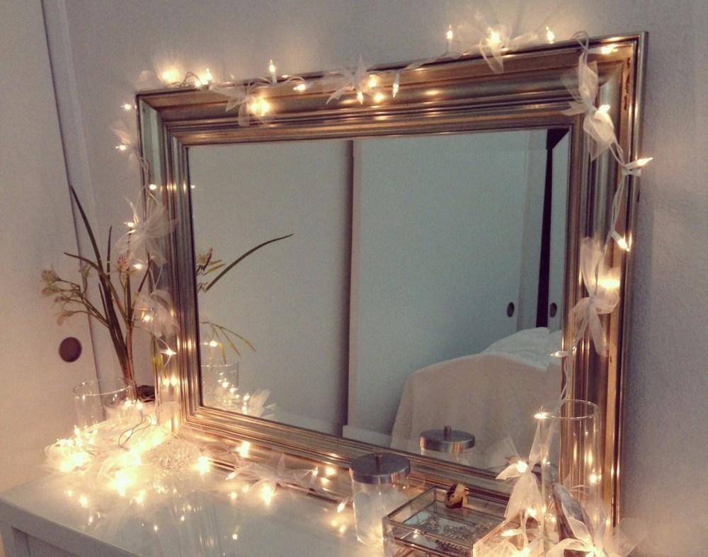 Lampu Tumblr Cermin