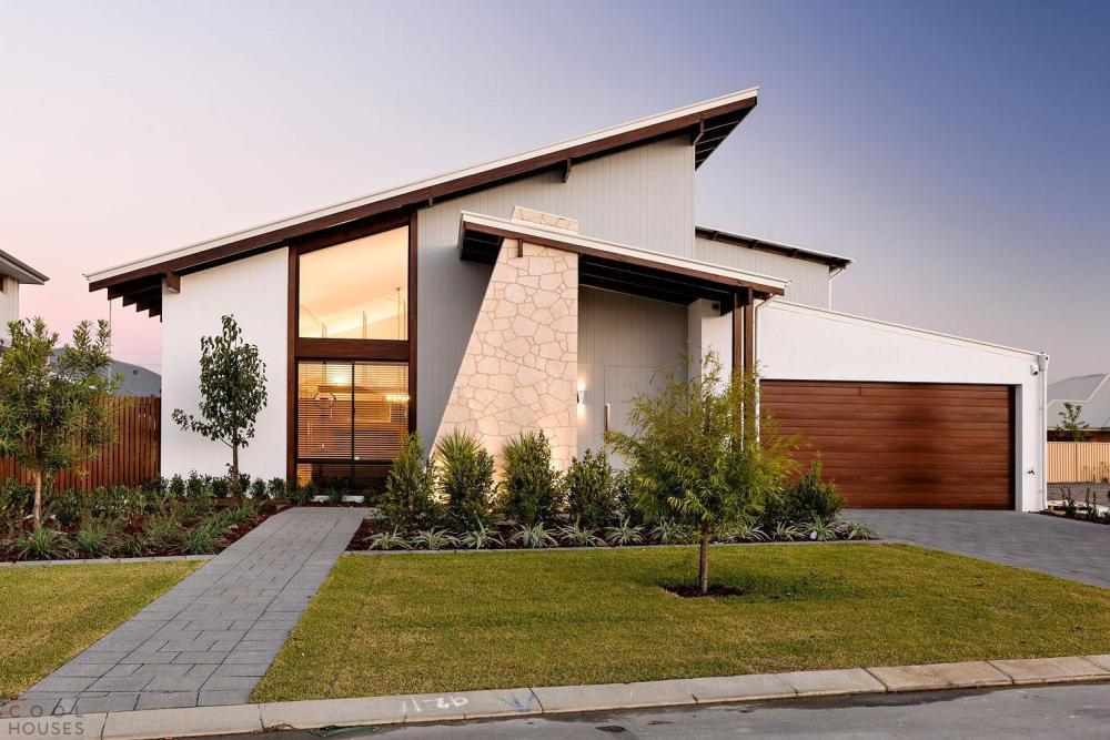 Model Atap Rumah Skillion