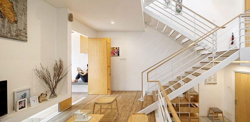 Rumah Split Level Sirkulasi