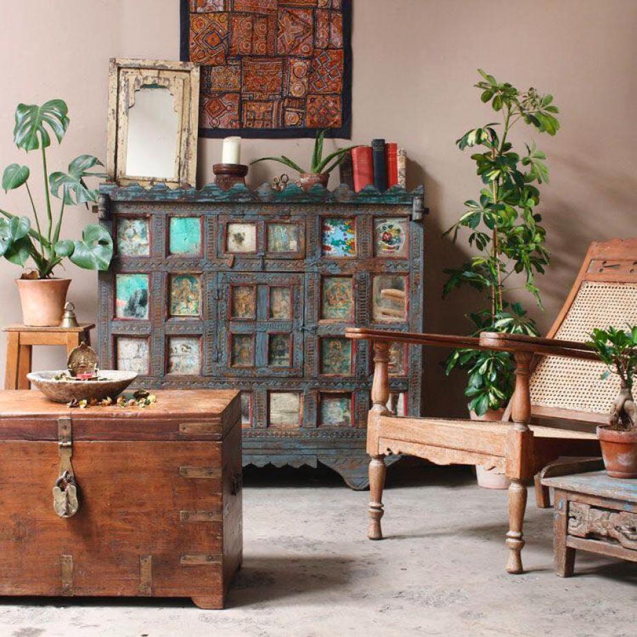 ciri desain vintage adalah furnitur jadul