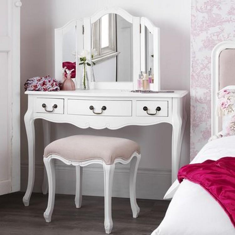 cara menghias kamar tidur yang sempit Meja Rias