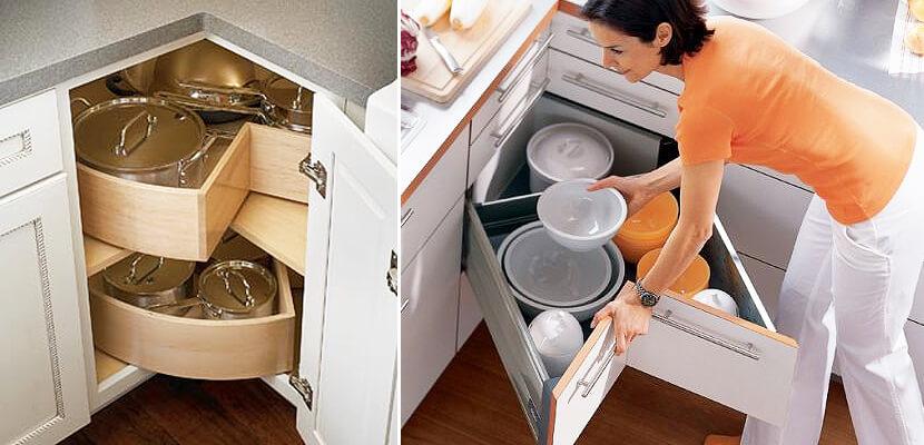 sudut desain kitchen set