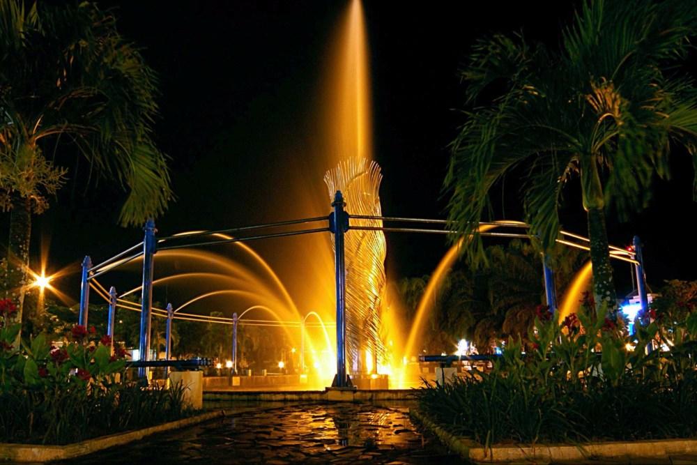 Air Mancur Menari Taman Bekapai