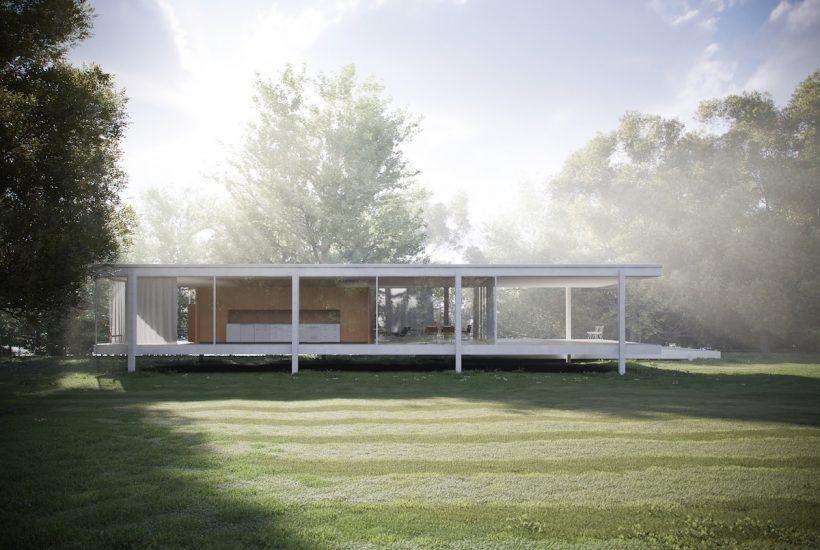 Arsitektur Modern Miss Van de rohe