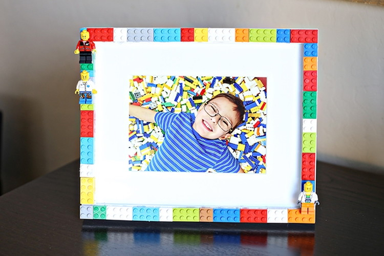 Bingkai Foto Unik Lego