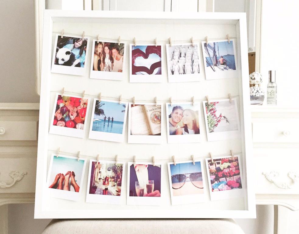 Bingkai Foto Unik Mood Board