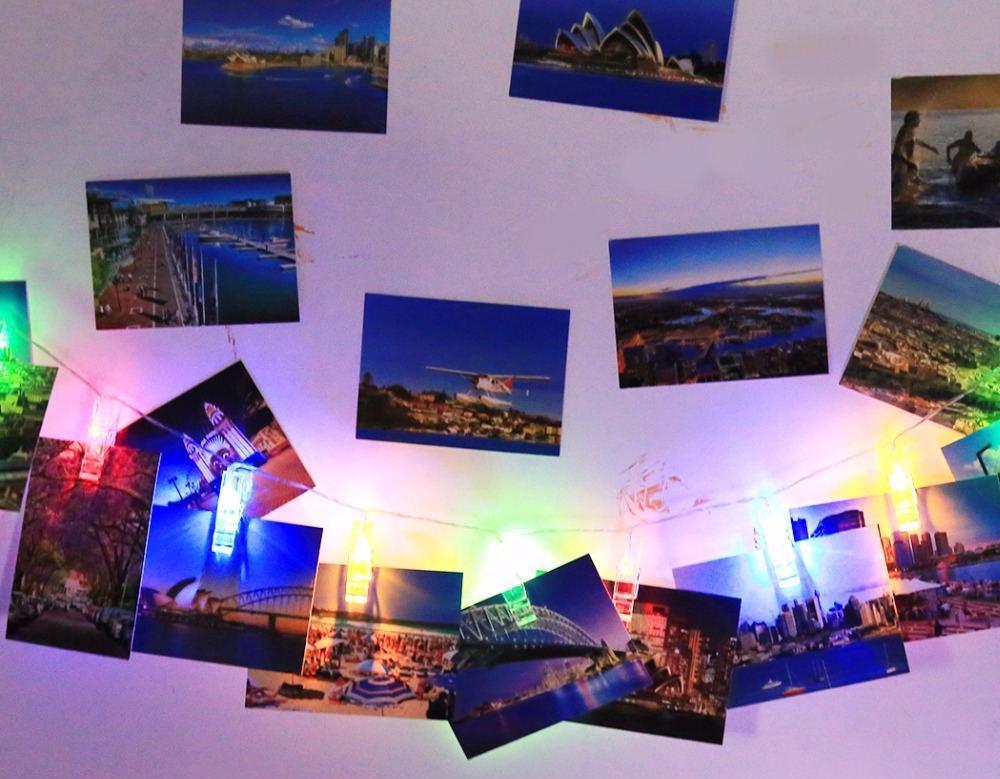 Bingkai Foto Unik Mood Board Lampu