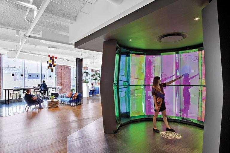 Desain Kantor Google NYC