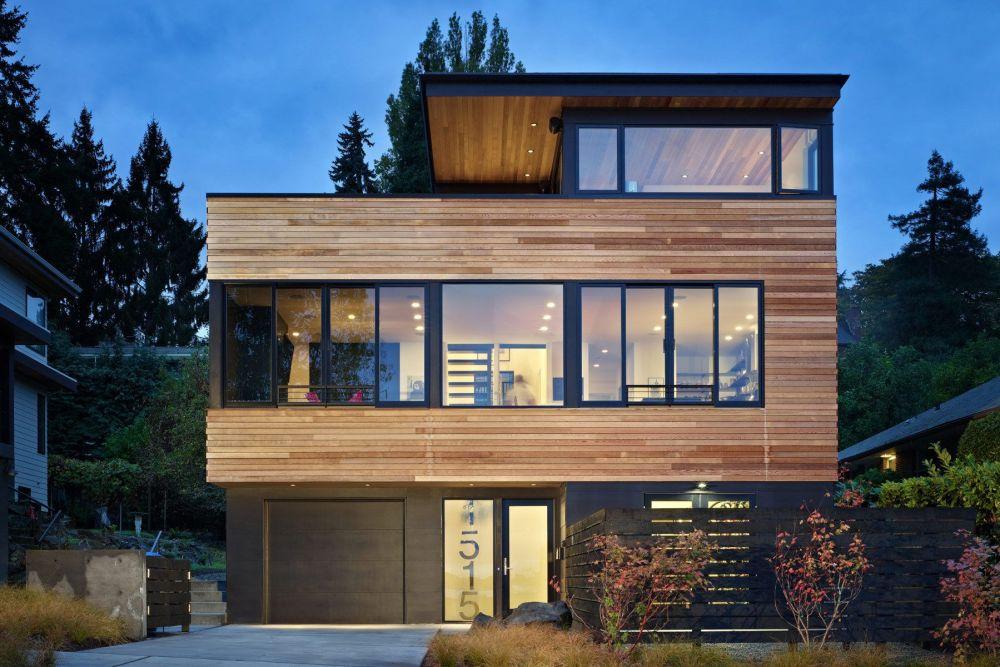 Desain Rumah Minimalis Sederhana Kayu Tinggkat Tiga