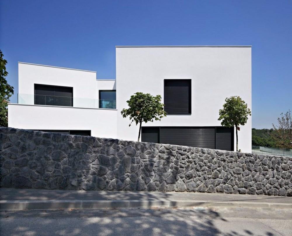 Desain Rumah Minimalis Sederhana Putih