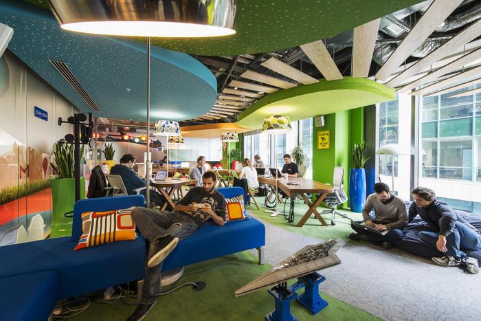 Desain Kantor Google Dublin