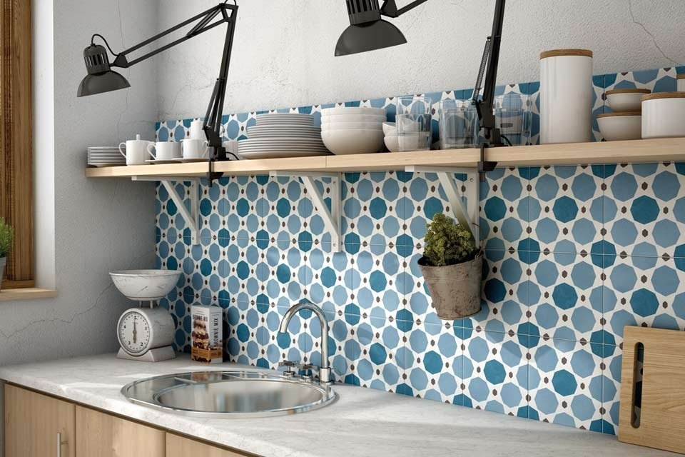 Keramik Dinding Dapur Berkreasi
