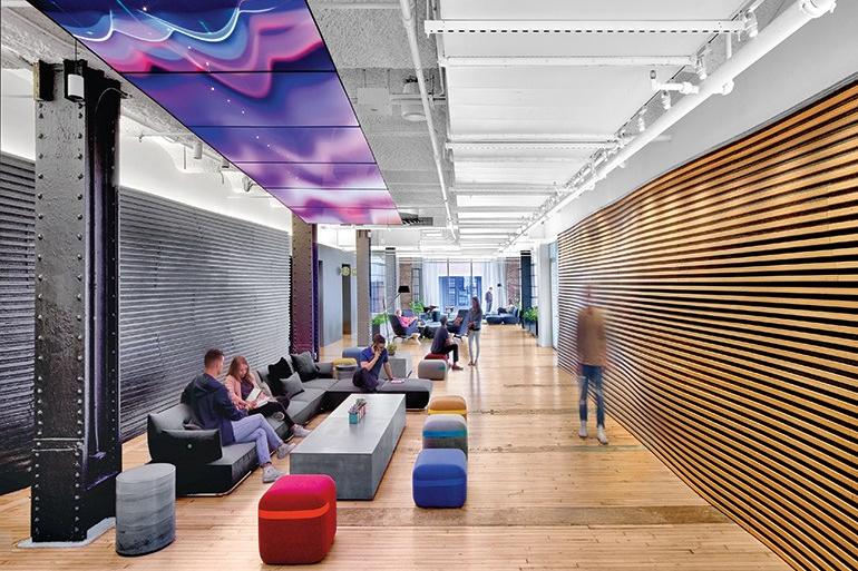 Desain Kantor Google New York