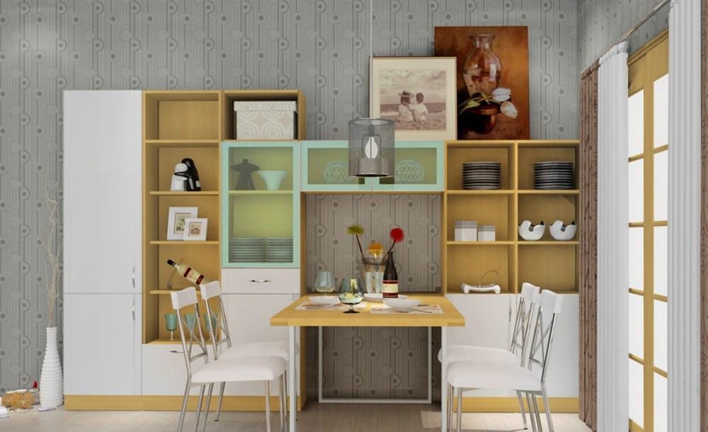 Ruang Makan Minimalis Kabinet