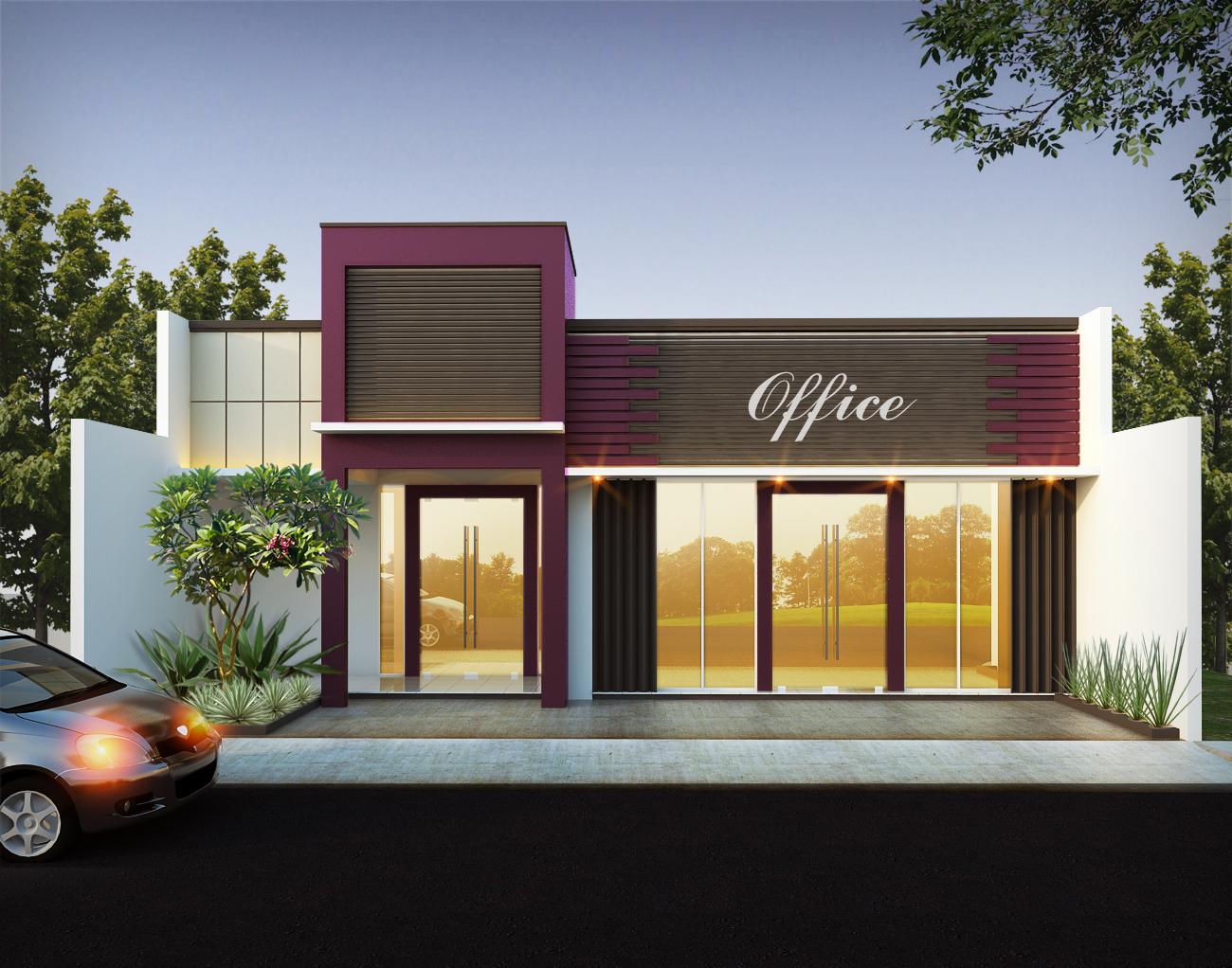 Sedang Tren Yuk Lihat 10 Desain Ruko Minimalis Terpopuler Denah rumah toko minimalis