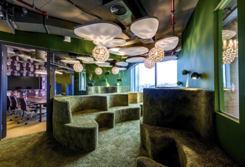 Desain Kantor Google di Tel Aviv