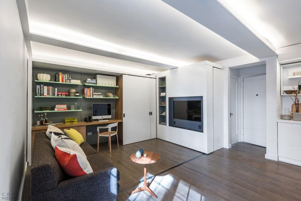 Tempat Bekerja Interior Apartemen Minimalis