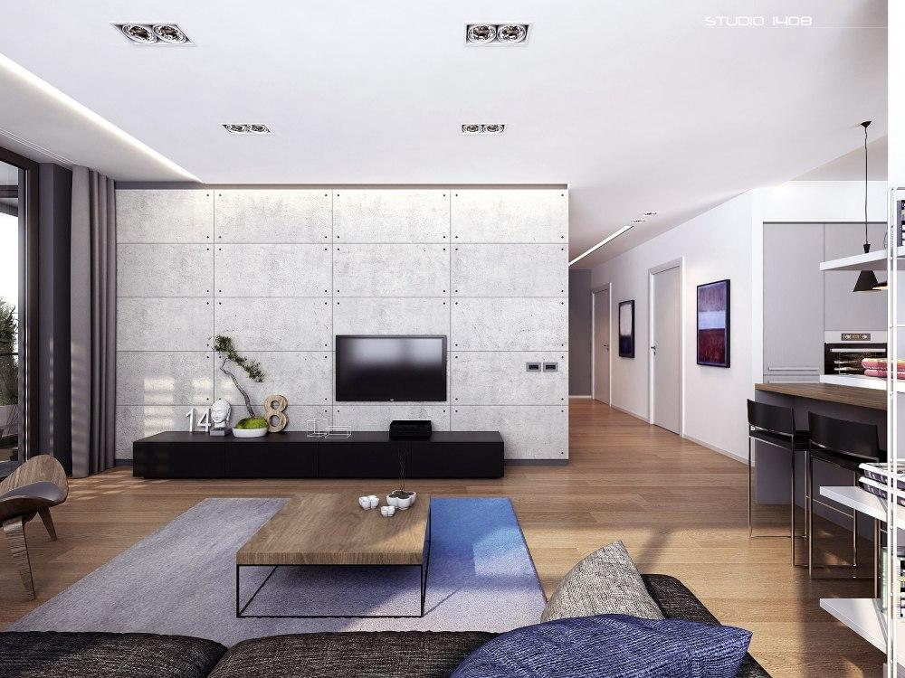 Tv Interior Apartemen Minimalis