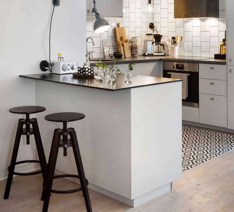 Punya dapur kecil? Yuk pakai meja bar minimalis!