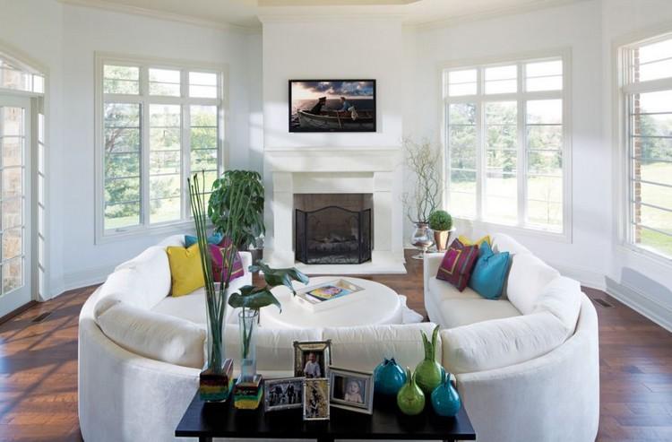 Dekorasi Rumah Minimalis Mejauhkan Furnitur dari Dinding