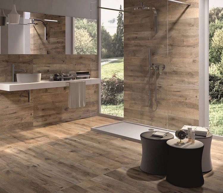 keramik lantai kamar mandi kayu