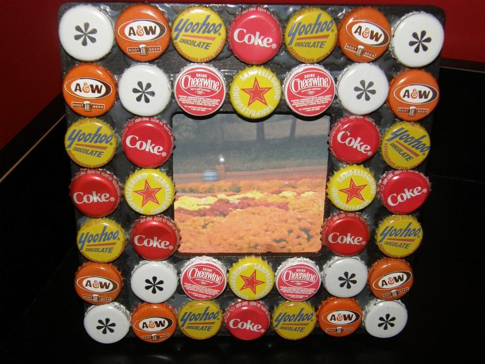 Bingkai Foto Lucu tutup botol