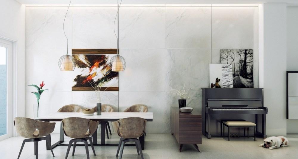 Desain Ruang Makan Modern