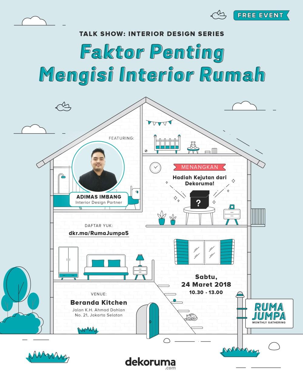 Poster Rumah Jumpa 5 Dekoruma