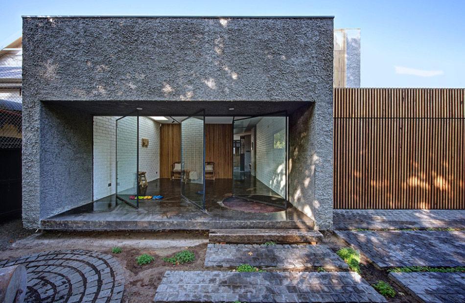 Rumah Batu Alam Sederhana