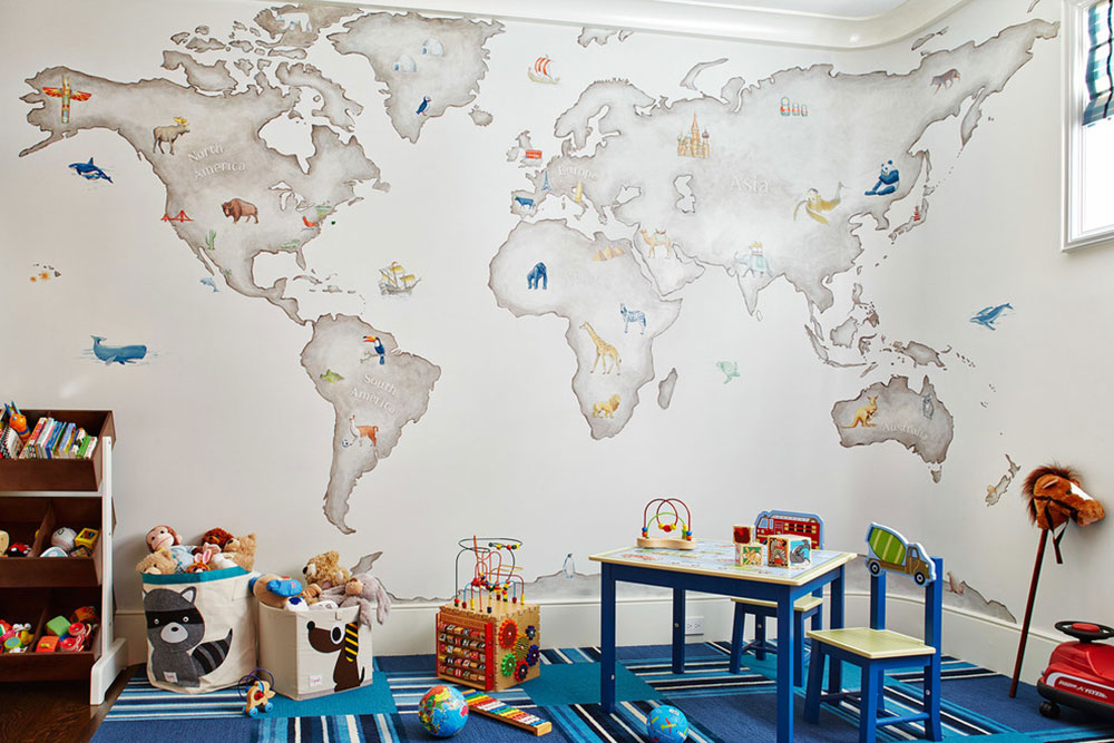 Wallpaper Dinding Rumah Sesuai Jenis Ruangan