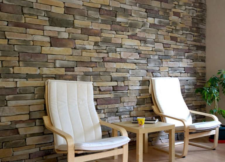 dinding batu alam cladding
