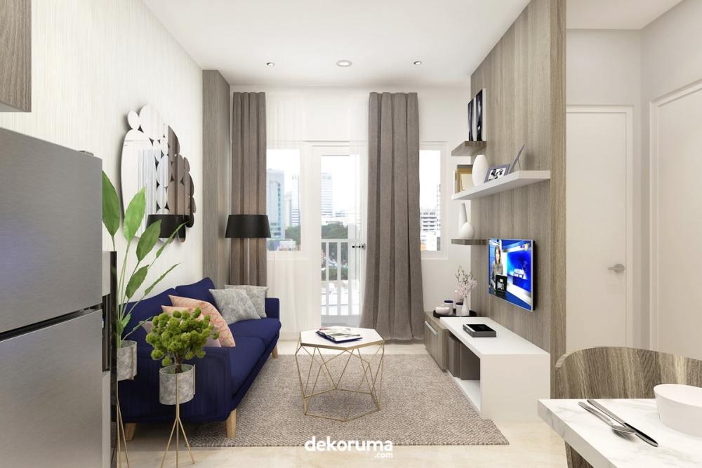 interior apartemen modern chic