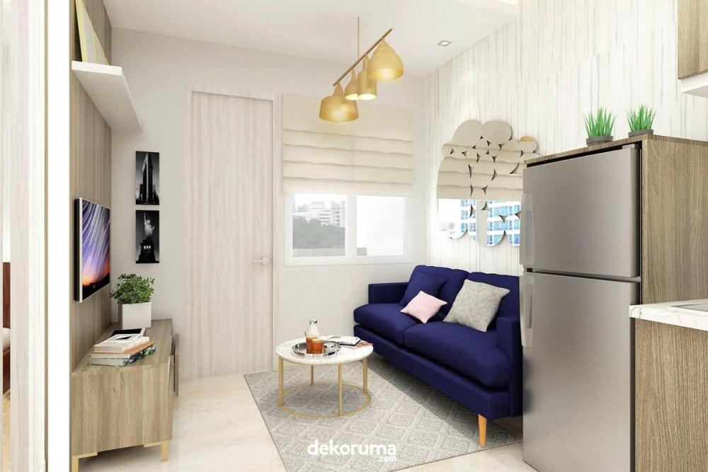 Interior ruang keluarga bergaya modern
