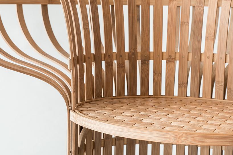 produksi kursi bambu