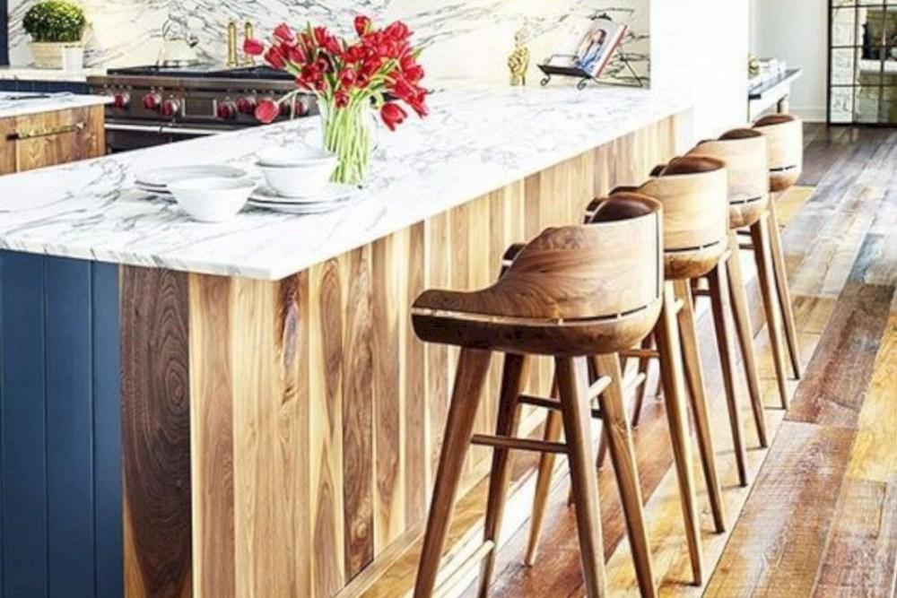 meja bar minimalis kayu