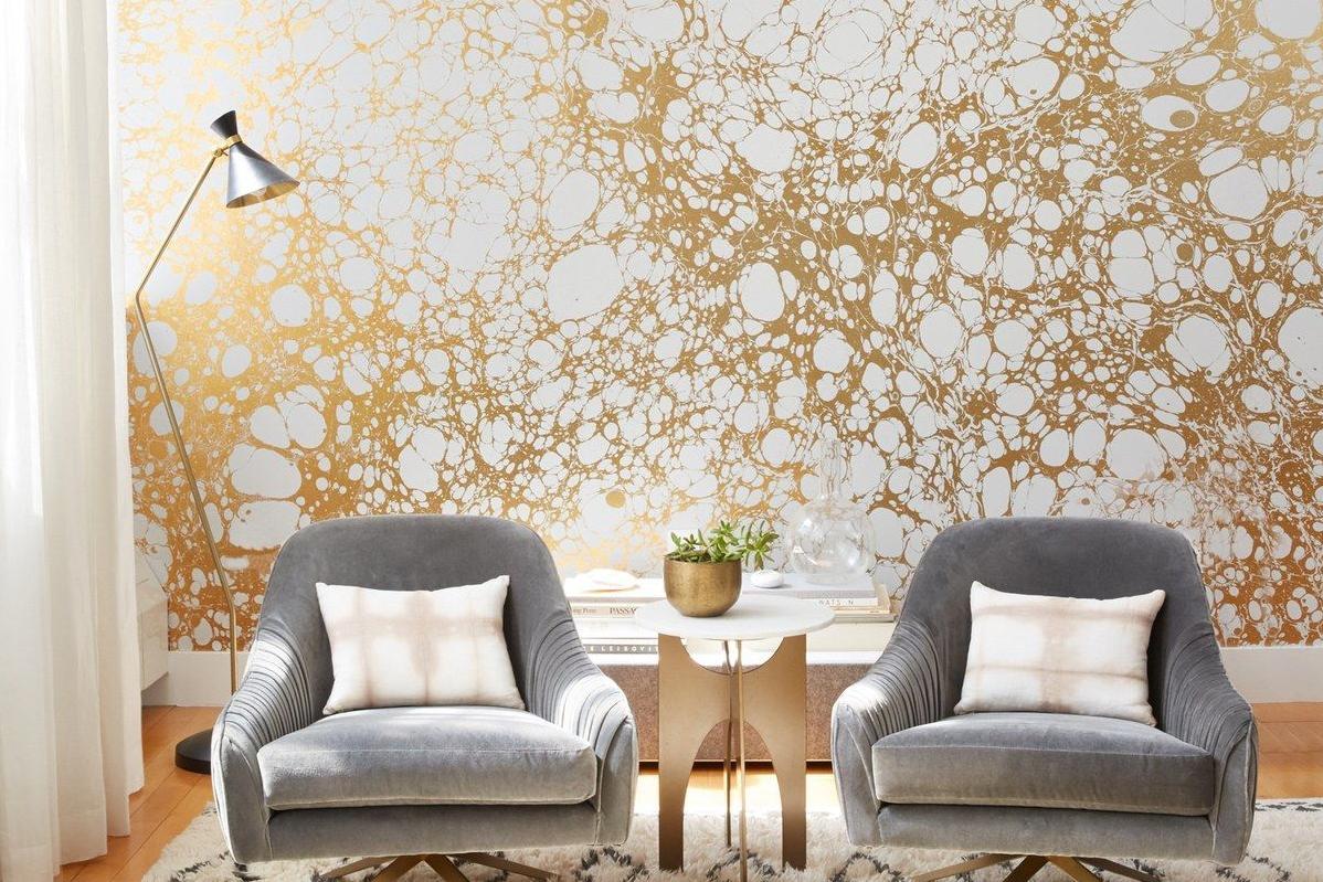 12 Trik Dapatkan Interior Sempurna Dengan Wallpaper Dinding