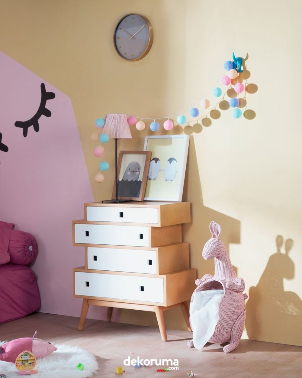 Hiasan gantung dekorasi kamar anak
