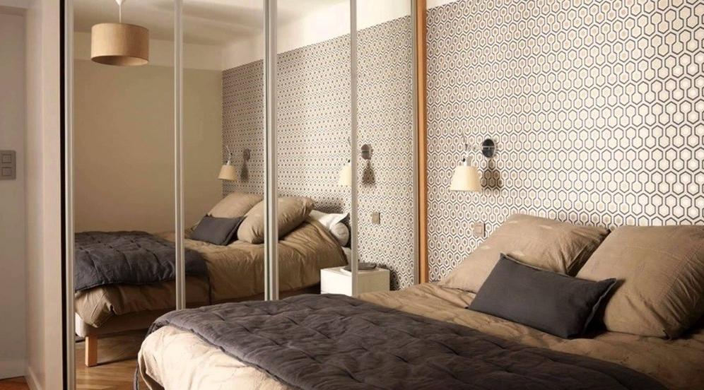 Desain Kamar Tidur Ukuran 3x3 Cermin