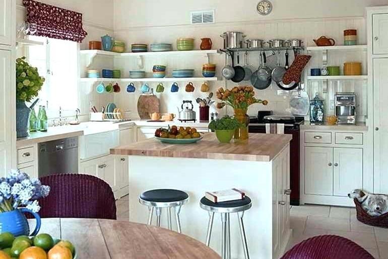Kabinet dapur tanpa pintu
