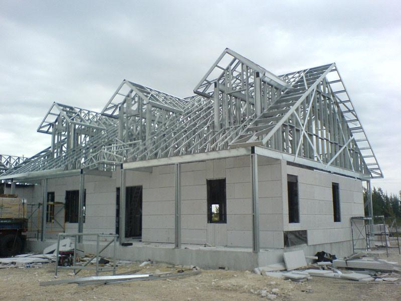 Konstruksi Baja Ringan Atap