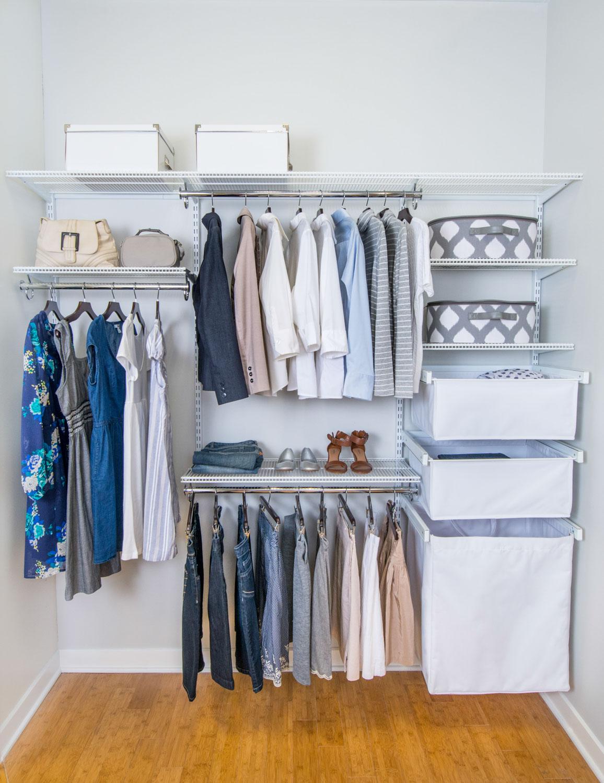 Hemat Tempat Ini 6 Desain Lemari Pakaian Untuk Kamar Sempit