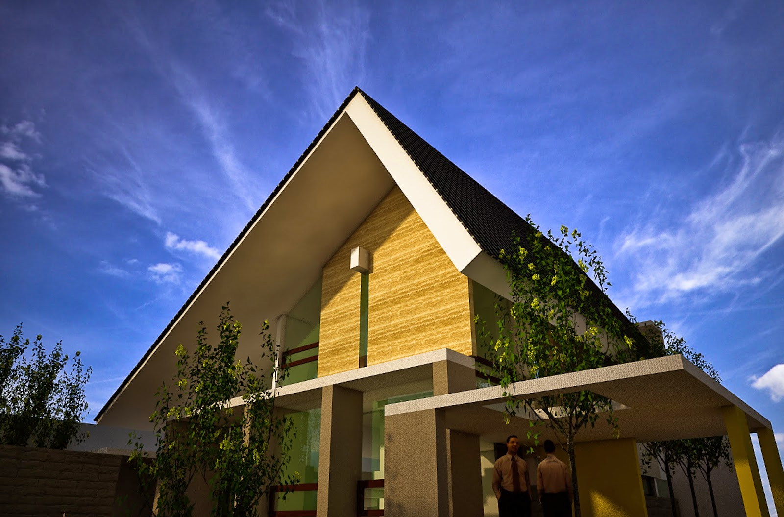7 Macam Desain Atap Rumah dan Fungsinya