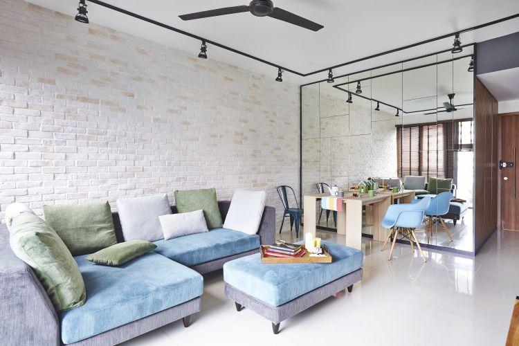 Sofa bed ottoman Furnitur Multifungsi