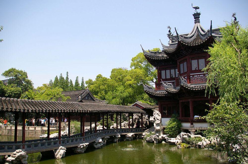 Arsitektur Lanskap Yu Yuan Garden