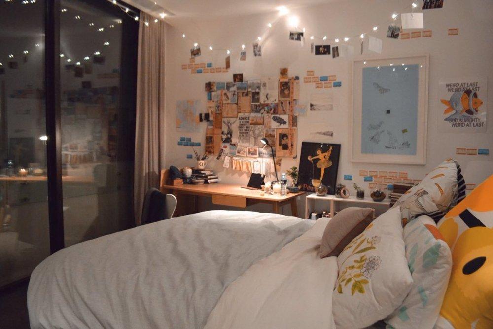 Desain Kamar Tidur Lampu Tumblr 7 hiasan kamar tidur ini murah meriah tapi nggak murahan