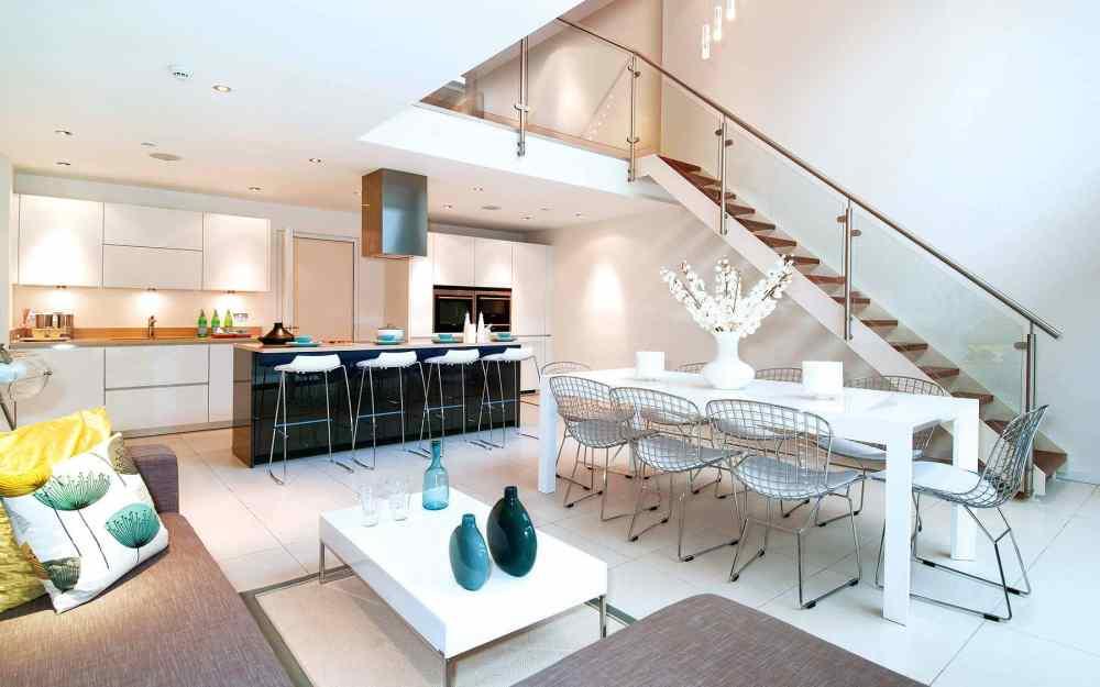 Desain Dapur Dan Ruang Makan Minimalist