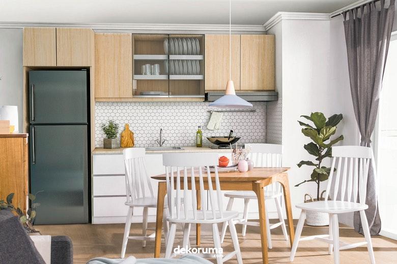Desain Dapur Dan Ruang Makan Jadi Satu Kenapa Tidak