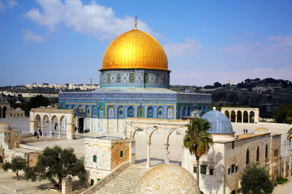 Masjid Kubah Emas, Yerusalem, Israel