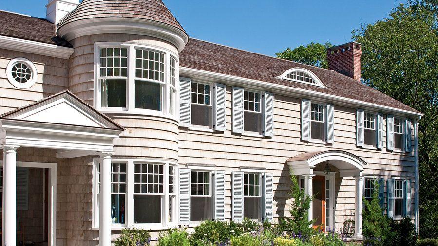 Model Rumah Klasik Melengkung