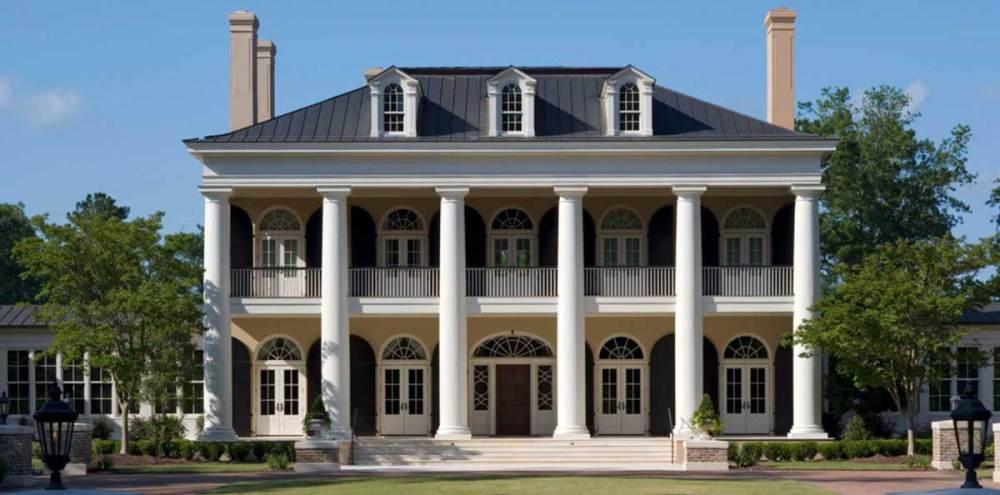Model Rumah Klasik Pilar